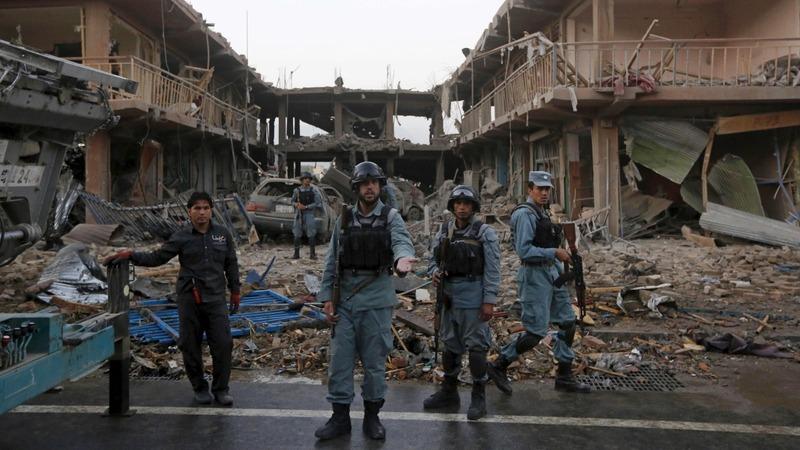Wave of attacks kills 50 in Kabul