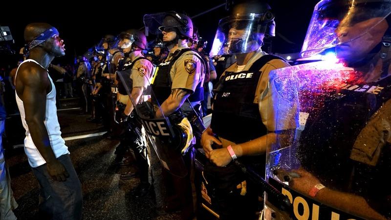 VERBATIM: Police chief on Ferguson violence