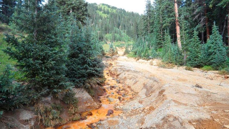 Toxic water pours into Colorado streams