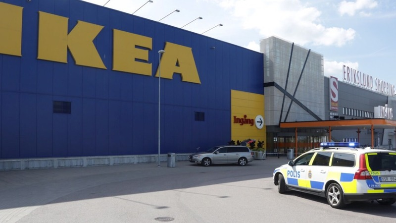 Two people killed in IKEA attack