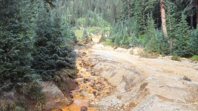 Colorado gold mine sludge damage expands