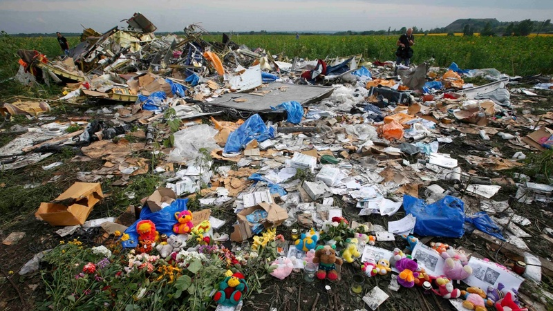 Did a Russian-made missile shoot down MH17?