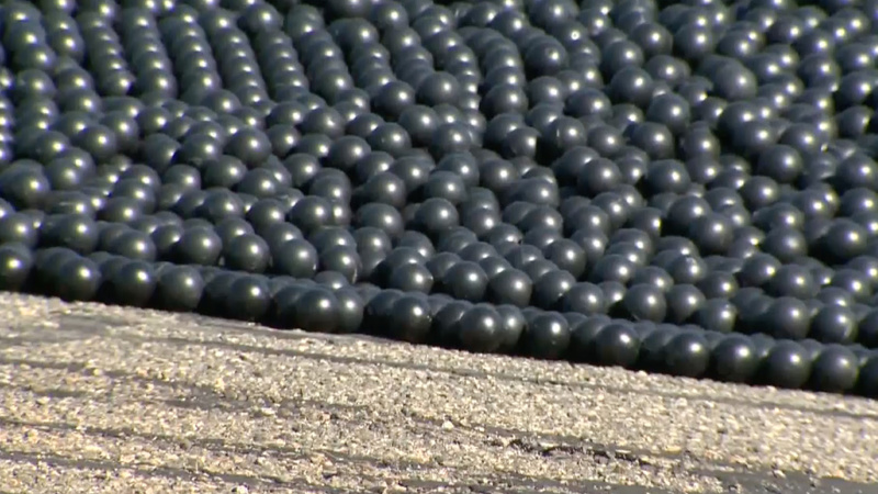 VERBATIM: 'Shade balls' to fight drought