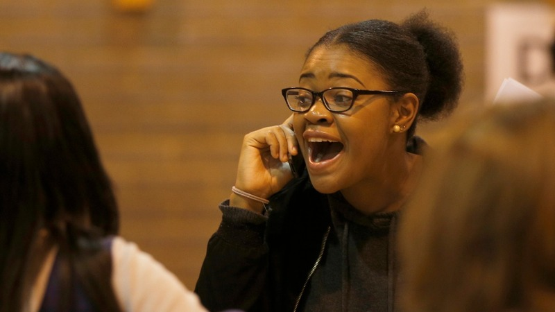 A-levels show record results