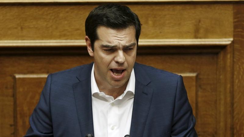 Greek MPs in marathon bailout debate