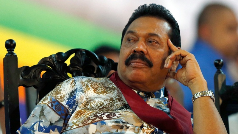 Toppled leader vows a comeback in Sri Lanka