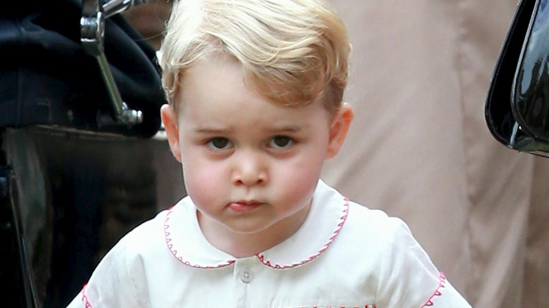 Palace warns paparazzi: Leave George alone