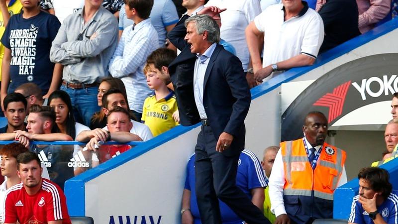Mourinho leaves medics off the bench
