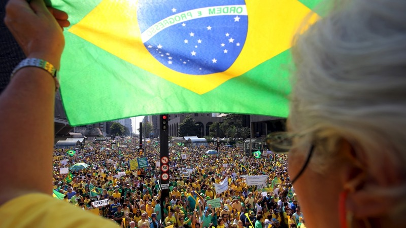 Anti-government protests sweep Brazil