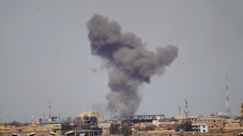 U.S. bombing against Islamic State surges