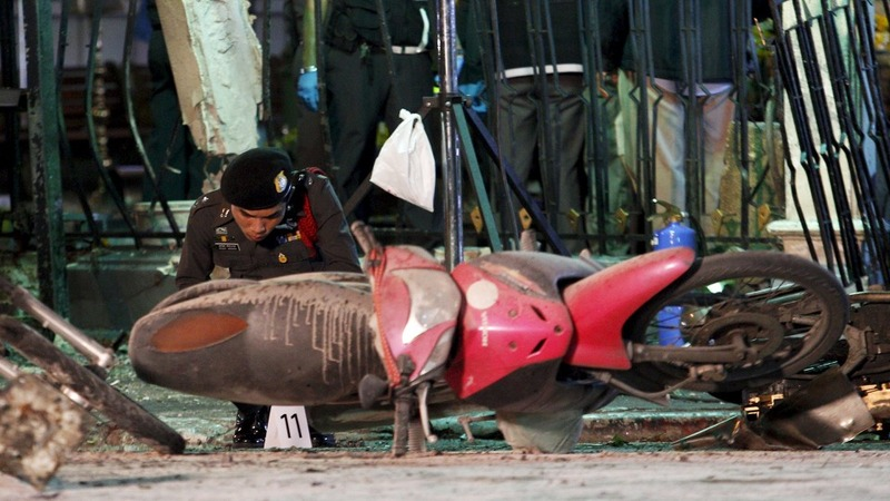 Deadly bomb blast strikes Bangkok