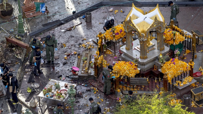 Thailand's search for answers after bombing