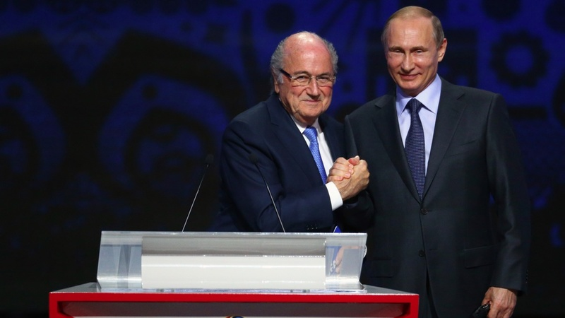 FIFA probe examining Russia's 2018 bid
