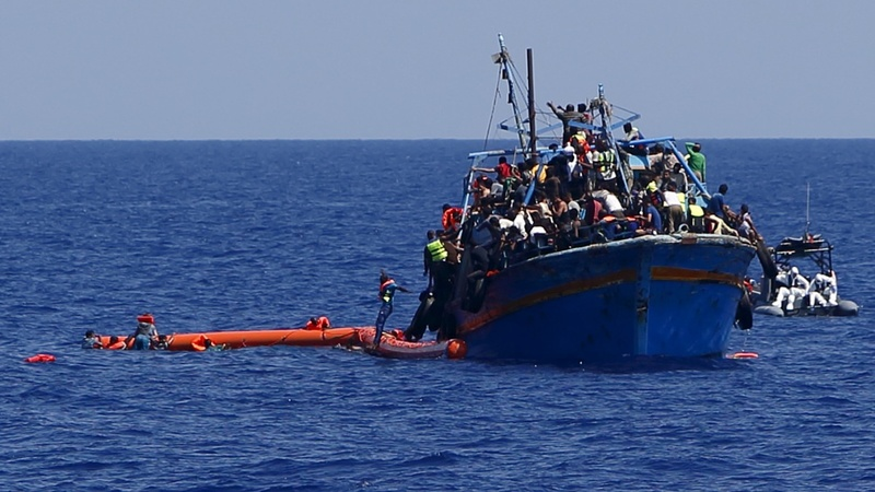 Migrant number rise threefold from last year