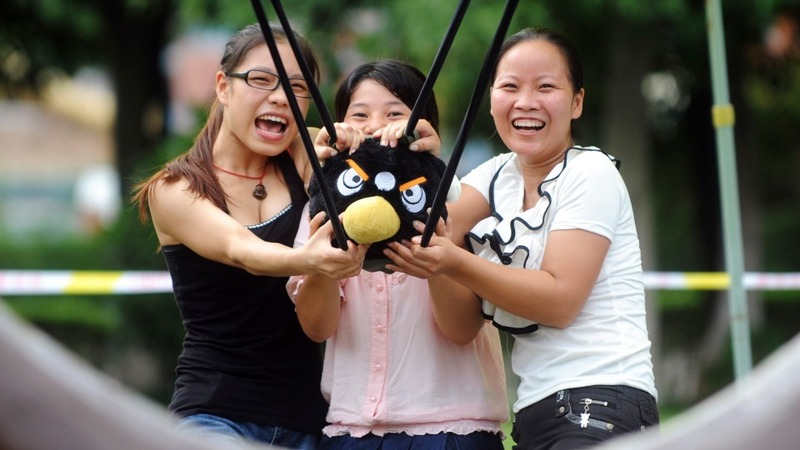 Angry Birds aims for a China rebound