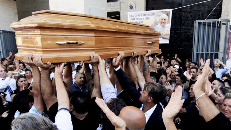 'King of Rome' given Godfather funeral