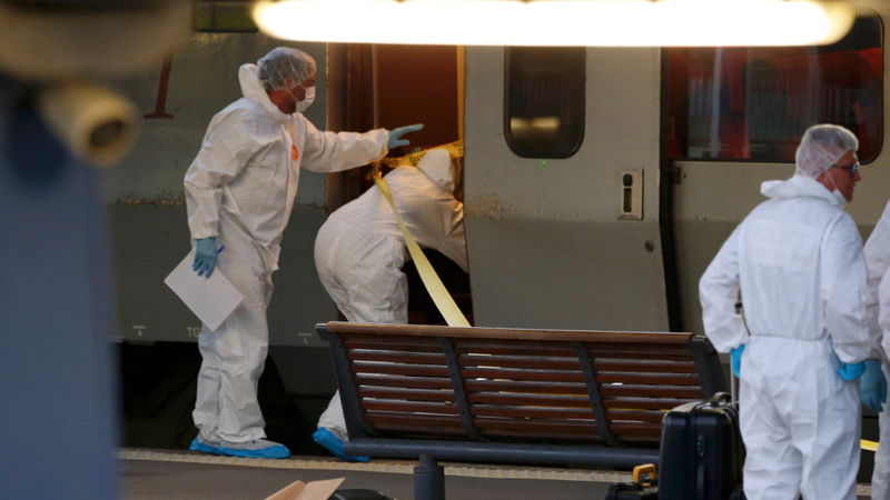 French terror authorities probing train shooting