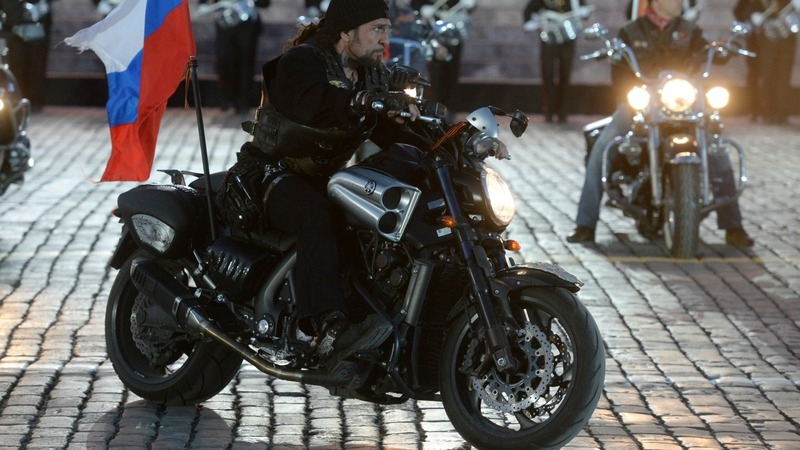 Putin bikers drive Russian patriotism