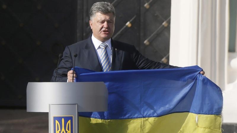 VERBATIM: Ukrainian president calls for unity