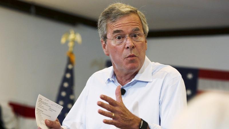 "VERBATIM: Bush calls Trump plan ""unrealistic"""