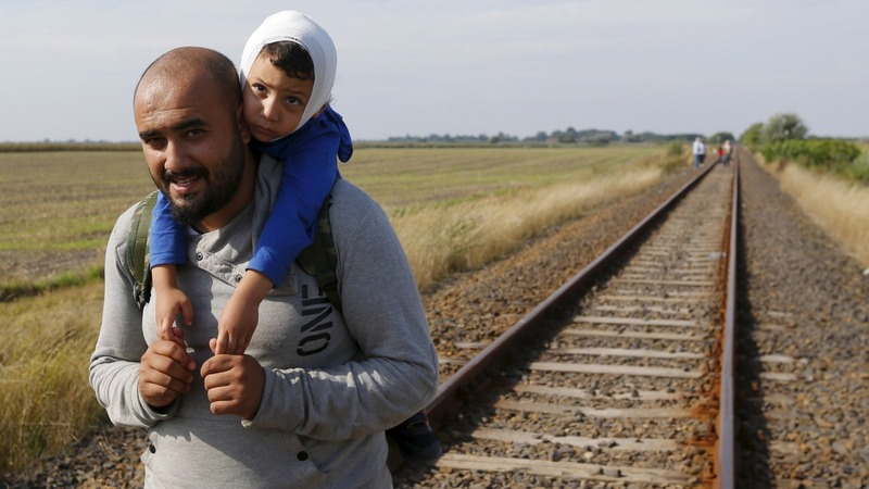 Migration trail: Last stop before the EU