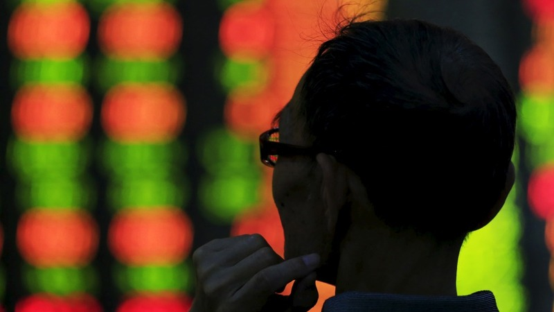 Chinese stocks still stuck in the red