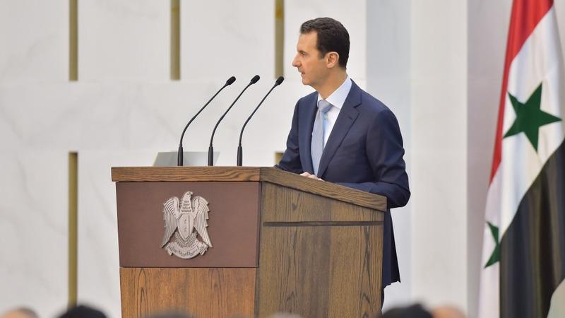 Hard to team up with 'terrorists' - Assad