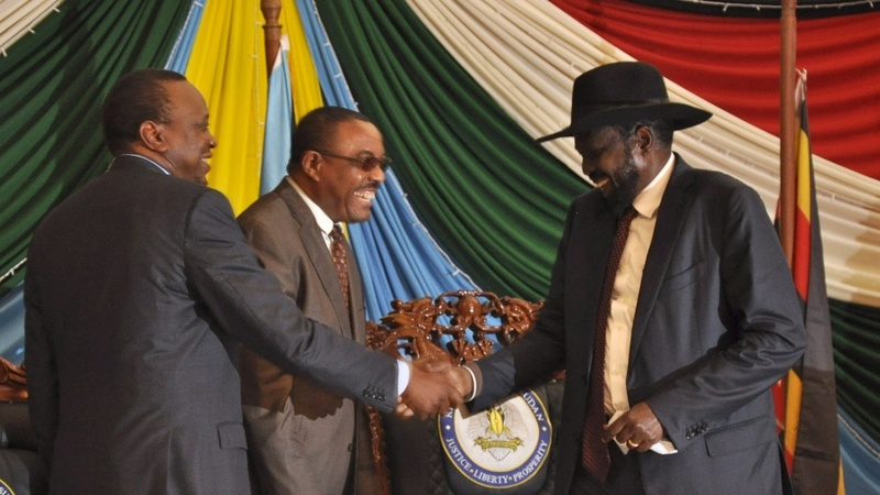 South Sudan president signs peace deal