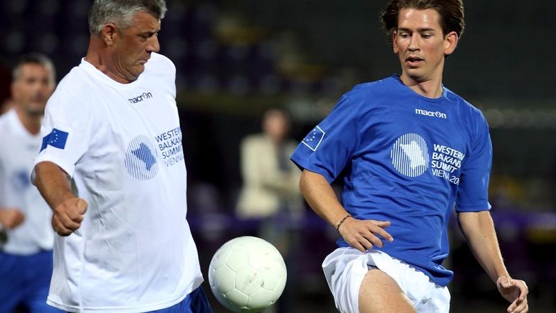 Football diplomacy kicks off Balkan summit