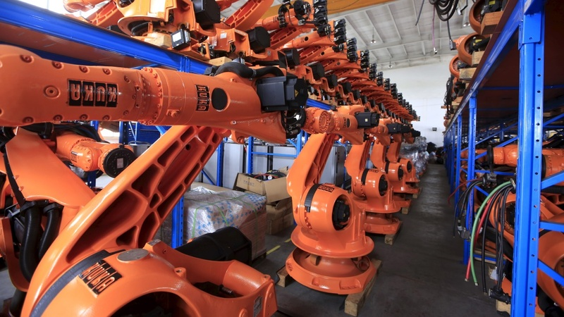 Europe's laid-off robots find work in China