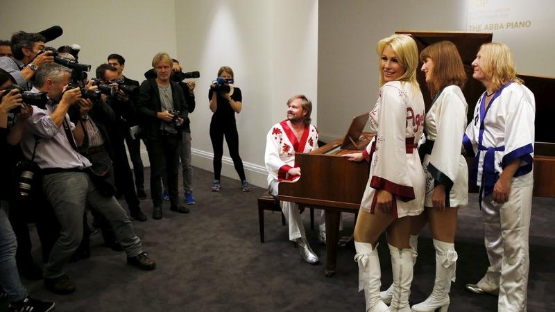 ABBA's Dancing Queen piano up for grabs
