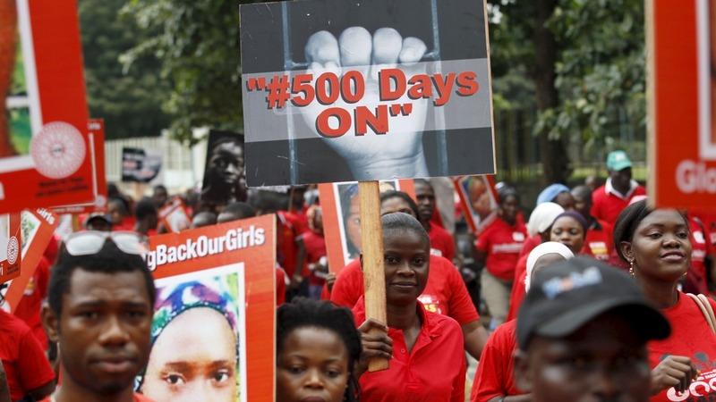 Nigeria marks 500 days since Chibok girls kidnapping