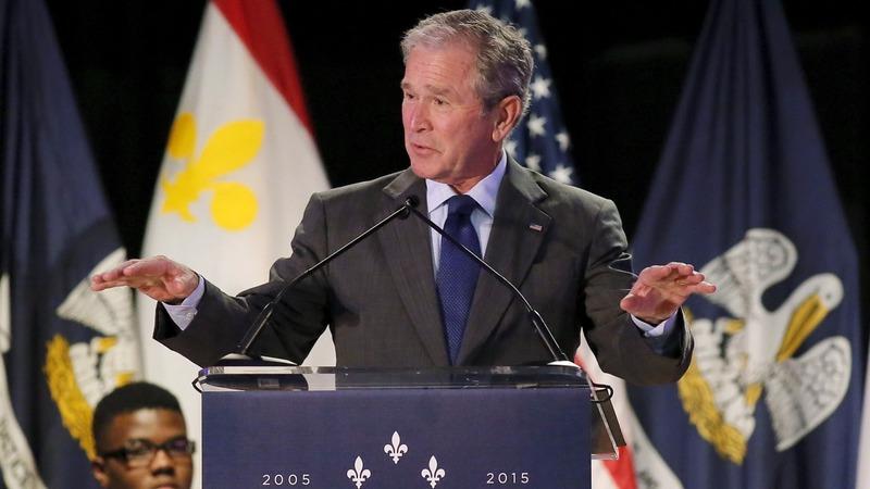 VERBATIM: George W. Bush returns to New Orleans