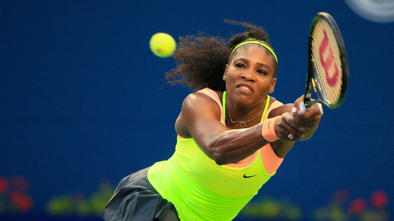 Serena takes aim at a Grand Slam sweep