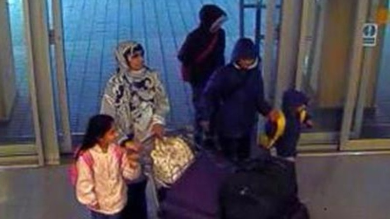 Mother, four children feared Syria-bound