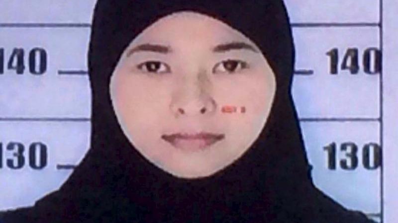Thai woman named a suspect in Bangkok blast