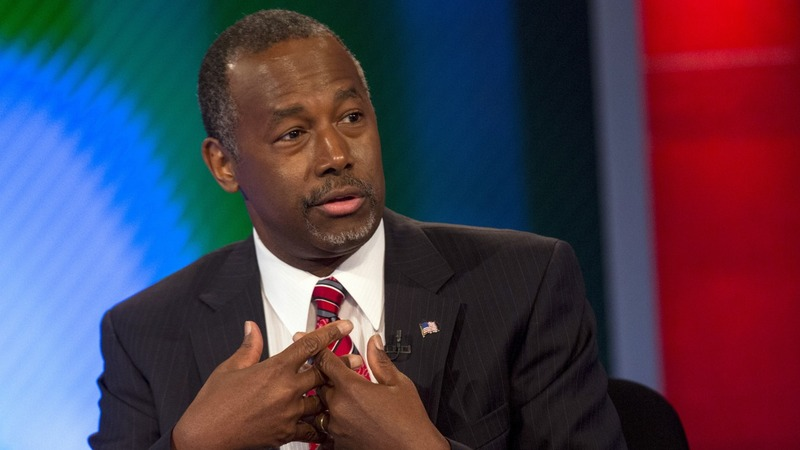 Carson ties Trump in Iowa poll