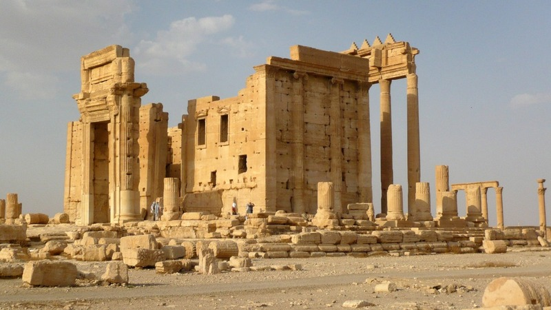 IS destroy Palmyra temple