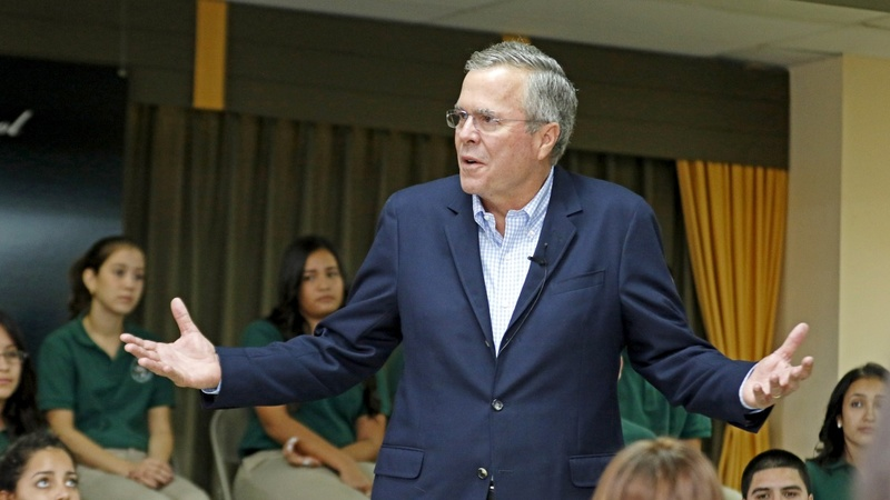 Bush fires back at Trump