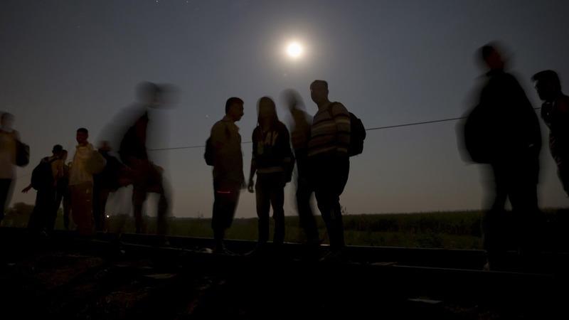 Migrant crisis: Athens arrivals, Calais chaos