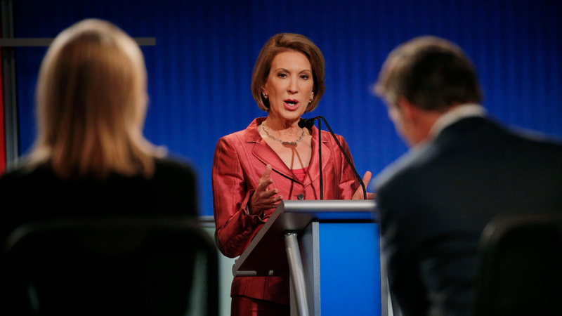 Fiorina lauds CNN debate change