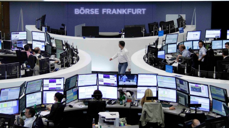 European shares steady after rough ride
