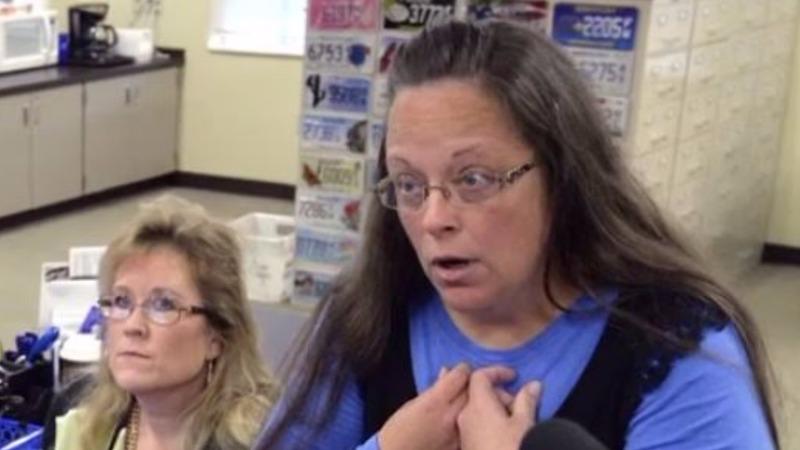 Judge orders Kentucky clerk to jail