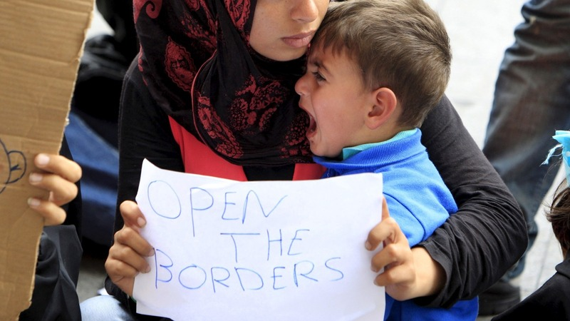 Desperate refugees turn to smugglers in Hungary