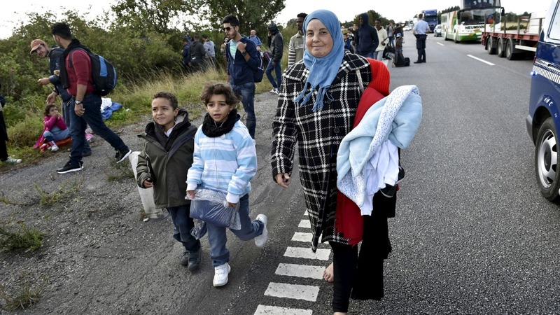 Surge in child refugees arriving in Sweden