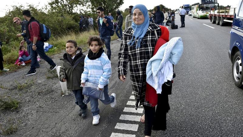 Surge in child refugees arriving in Sweden