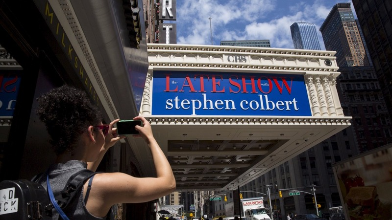 The 'real' Stephen Colbert makes his debut
