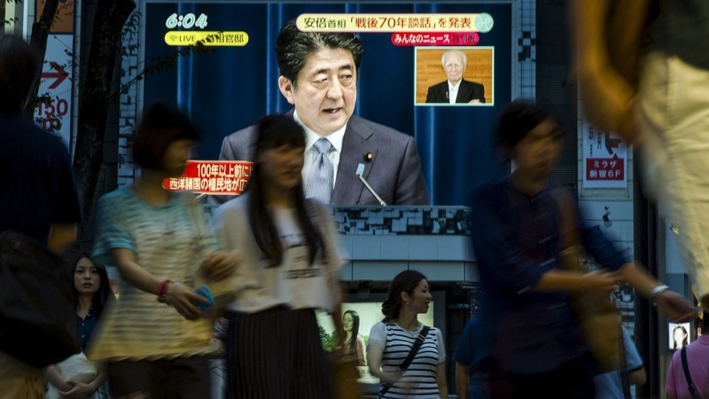 Japan's Shinzo Abe scores a second term