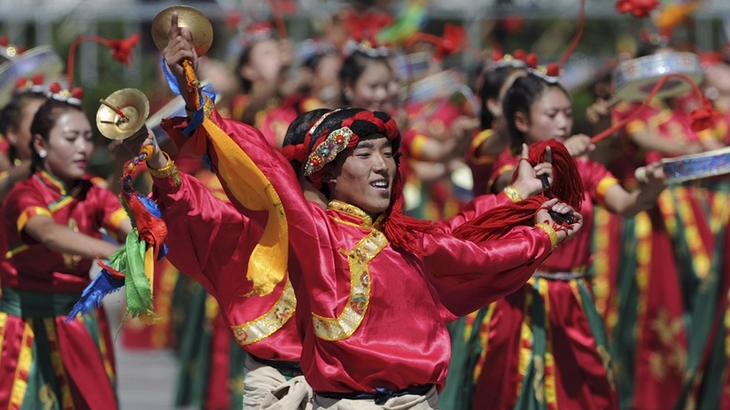 China marks Tibet's 'peaceful liberation'