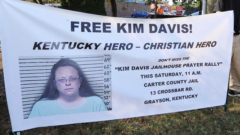 A new appeal to free Kim Davis